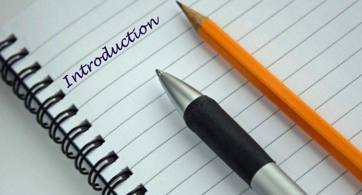 Deux exemples d'introduction pour un mémoire de fin d'études